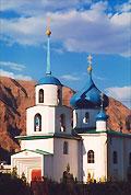 Храм Рождества Пресвятой Богородицы в Балканабаде. Фото Балканабада