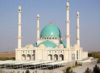 Geokdepe. Saparmurat Haji mosque