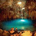 Подземное озер Коу-Ата в Бахарденской пещере